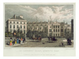 St. Andrews Place, Regents Park, 1828 Giclee Print by Thomas Hosmer Shepherd