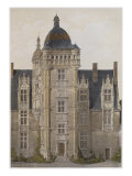 Chateau of Saint-Ouen, Mayenne, Illustration Giclee Print by Victor Jean-baptiste Petit