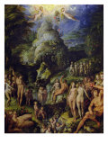 The Golden Age, c.1570 Giclee Print by Jacopo Zucchi