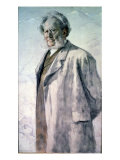 Portrait of Henrik Ibsen, 1895 Giclee Print by Erik Theodor Werenskiold
