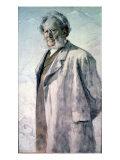 Portrait of Henrik Ibsen, 1895 Giclee Print by Erik Theodor Werenskiold