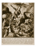 An Australian V.C. Who Accounted for Seven Turks, 1914-19 Giclee Print by Charles Mills Sheldon