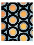 Circle Motif Texile Design Giclee Print by Varvara Fedorvna Stepanova