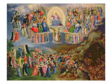 The Last Judgement Giclee Print by Bartholomaeus Spranger