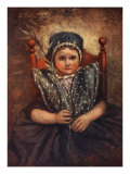 A Little Maiden, 1904 Giclee Print by Nico Jungman