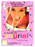 Muriel's Wedding, Spanish Movie Poster, 1994 Premium Giclee Print