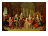 The Family of Philip V Giclee Print by Jean Ranc