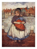 A Girl with a Doll, 1904 Giclee Print by Nico Jungman