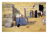 Fed Up!, from 'The Light Side of Egypt', 1908 Giclee Print by Lance Thackeray