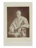 Portrait of Cardinal Henry Edward Manning Giclee Print by Walery Rzewuski