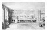 The Artist's Kitchen in Francis Street, 1846 Giclee Print by George The Elder Scharf
