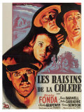 The Grapes of Wrath, French Movie Poster, 1940 Poster
