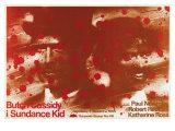 Butch Cassidy and the Sundance Kid, Polish Movie Poster, 1969 - Giclee Baskı