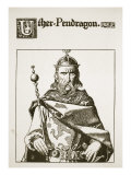 Uther Pendragon, illustration from 'The Story of King Arthur and his Knights', 1903 Giclee Print by Howard Pyle