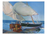 Sailing Boats, 1916 Giclee Print by Joaquin Sorolla y Bastida