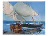 Sailing Boats, 1916 Giclee Print by Joaquín Sorolla y Bastida