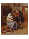 The Proposal Giclee Print by Jan Havicksz Steen