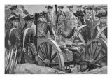 The Men who Served under Clive Giclee Print by Richard Caton Woodville