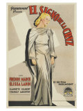 The Sign of the Cross, Spanish Movie Poster, 1932 Print