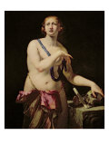 Mary Magdalene in Penitence Giclee Print by Antonio Zanchi