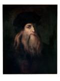 Self Portrait Giclee Print by  Leonardo da Vinci