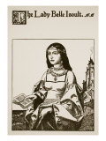 The Lady Belle Isoult, Illustration from 'The Story of the Champions of the Round Table' Giclee Print by Howard Pyle