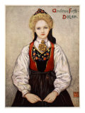 Country Girl from Dalen, 1905 Giclee Print by Nico Jungman