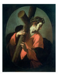 Christ Carrying the Cross, c.1608-09 Giclee Print by Bernardo Strozzi