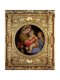 The Madonna of the Chair Impression giclée par  Raphael