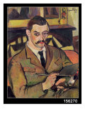 Portrait of Maurice Utrillo Giclee Print by Marie Clementine Valadon