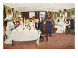 The After-Dinner Speech, from 'The Light Side of Egypt', 1908 Giclee Print by Lance Thackeray