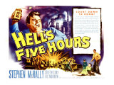 Hell's Five Hours, 1958 Giclee Print