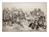 The Great Advance: Royal Horse Artillery Giclee Print by Richard Caton Woodville