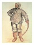 Eskimo Man, 1570 Giclee Print by John White