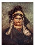 Woman of Hulst, 1904 Giclee Print by Nico Jungman