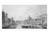 View of the Grand Canal, Venice, c.1800 Reproduction procédé giclée par Francesco Triconi