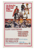 The Good, The Bad and The Ugly, 1966 Giclee-tryk i høj kvalitet