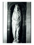 Stone Sculpture of John Donne in his Shroud Giclee Print