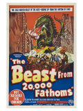 The Beast From 20,000 Fathoms, Australian Movie Poster, 1953 Premium Giclee Print
