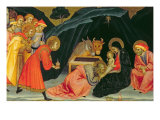 The Adoration of the Magi Giclée-tryk af Taddeo di Bartolo