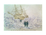 Incident on a Trading Journey: HMS Terror Thrown up by the Ice, March 15th 1837 Giclee Print by Lieutenant Smyth
