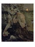 Pan, 1899 Giclee Print by Mikhail Aleksandrovich Vrubel
