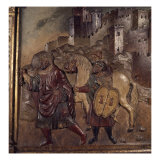 The Last Moslem King of Granda Leaving the City in 1492 Giclée-Druck von Felipe Vigarny