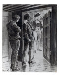 Convicts on their Way to Botany Bay Giclee Print by Richard Caton Woodville