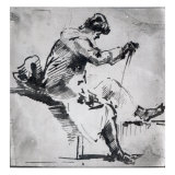 Seated Man Giclee Print by Joseph Mallord William Turner