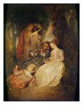 Perfect Harmony Giclee Print by Jean Antoine Watteau