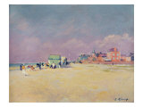 Cayeux-sur-Mer Giclee Print by Jules Ernest Renoux