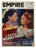 Mildred Pierce, Belgian Movie Poster, 1945 Gicledruk