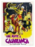 Night in Casablanca, Italian Movie Poster, 1946 Prints