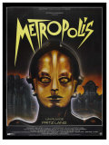 Metropolis, French Movie Poster, 1926 Giclee Print